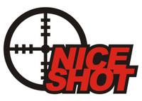 Nice Shot - Die Cut