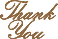 Thank You - Chipboard Quotations
