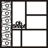 Oh Snap! - 12x12 Overlay