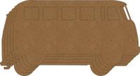 VW Bus Chipboard Album