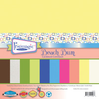 Beach Bum Multicolor Pack - 25 Pack Mulitcolor Cardstock