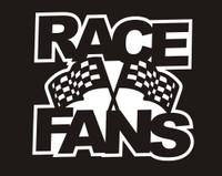 RACE FANS - Die Cut