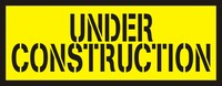 Under Construction - Die Cut