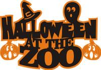 Halloween at the Zoo - Die Cut
