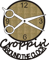Croppin' Around the Clock - Die Cut