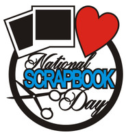 National Scrapbook Day - Die Cut