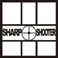Sharp Shooter - 12x12 Overlay