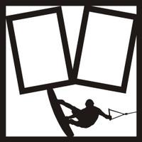 Wakeboarding - 12x12 Overlay