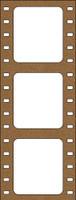 Film Strip - Chipboard Embellishments