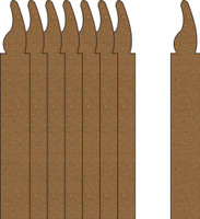 Candles 8 Pack - Chipboard Embellishments