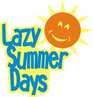 Lazy Summer Days - Laser Die Cut