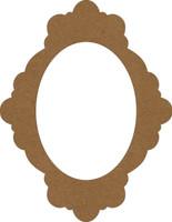 Chipboard Frame - Bella - Chipboard Embellishment