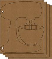 Mixer Album  - Chipboard Album