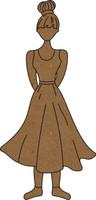 Shy Girly - Chipboard Embellishment