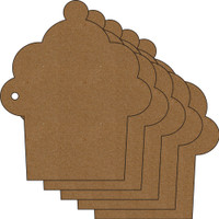 Sweet Shabby Cupcake Album - Chipboard Album