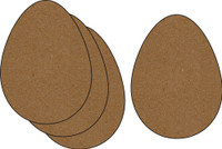 Easter Eggs 4 Pack - Chipboard Embellishment