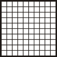 Mosaic 1 - 1 inch Squares - 12x12 Overlays