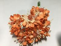 Orange Paper Flower #8105