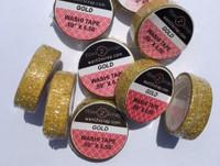 Glitter Washi Tape - Gold