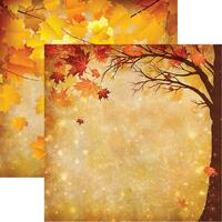 Magical Fall - Reminisce Double Sided 12 x 12 Paper