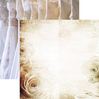 Wedding Lace - Reminisce Double Sided 12 x 12 Paper