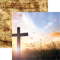 Amazing Grace - Reminisce Double Sided 12 x 12 Paper