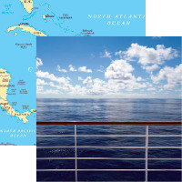 Caribbean Cruise - Reminisce Double Sided 12 x 12 Paper