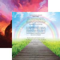 Rainbow Bridge - Reminisce Double Sided 12 x 12 Paper