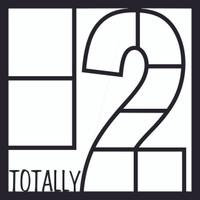 Totally 2 - 12x12 Overlay