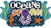 Oceans of Fun - Laser Die Cut