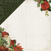 LETTERS TO SANTA  - KAISERCRAFT DOUBLE SIDED PAPER