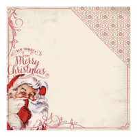 CHRISTMAS TIME - AUTHENTIQUE DOUBLE SIDED PAPER