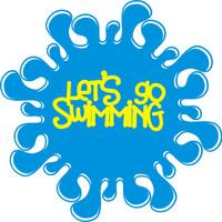 Let's go swimming - Laser Die Cut