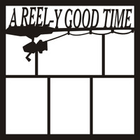 A Reely Good Time - 12 x 12 Scrapbook OL