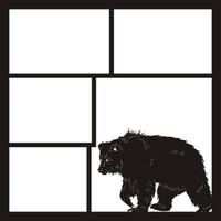 Bear Right - 12 x 12 Scrapbook OL