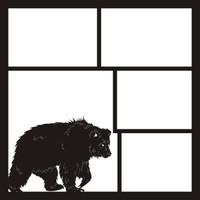 Bear Left - 12 x 12 Scrapbook OL
