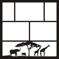 Africa 2 - 12 x 12 Scrapbook OL