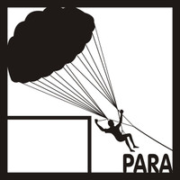 Parasailing Pg 1 - 12 x 12 Scrapbook OL