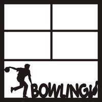 Bowling Male - 12 x 12 Scrapbook OL
