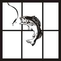 Bass - 12 x 12 Scrapbook OL