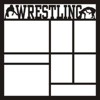 Wrestling 2 - 12 x 12 Scrapbook OL