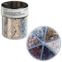 Sequin Glitter Caddy: Metallics