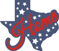 Texas Home Laser Die Cut