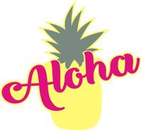 Aloha Laser die cut