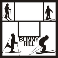 Bunny Hill Pg 1 - 12 x 12 Scrapbook OL