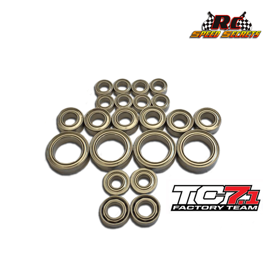 Associated TC7.1 Bearing Set
