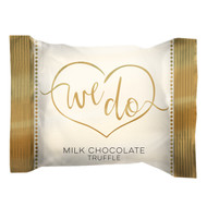 "Wedding ""We Do"" in gold wrap, 4 lb. bulk bag"