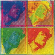 Jimi Hendrix Iron-On Patch Warhol Four Faces Logo
