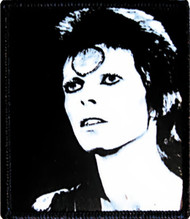 David Bowie Iron-On Patch Face Logo