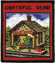 Grateful Dead Iron-On Patch Terrapin Station Logo